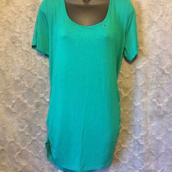 Turquoise Evening Blouse